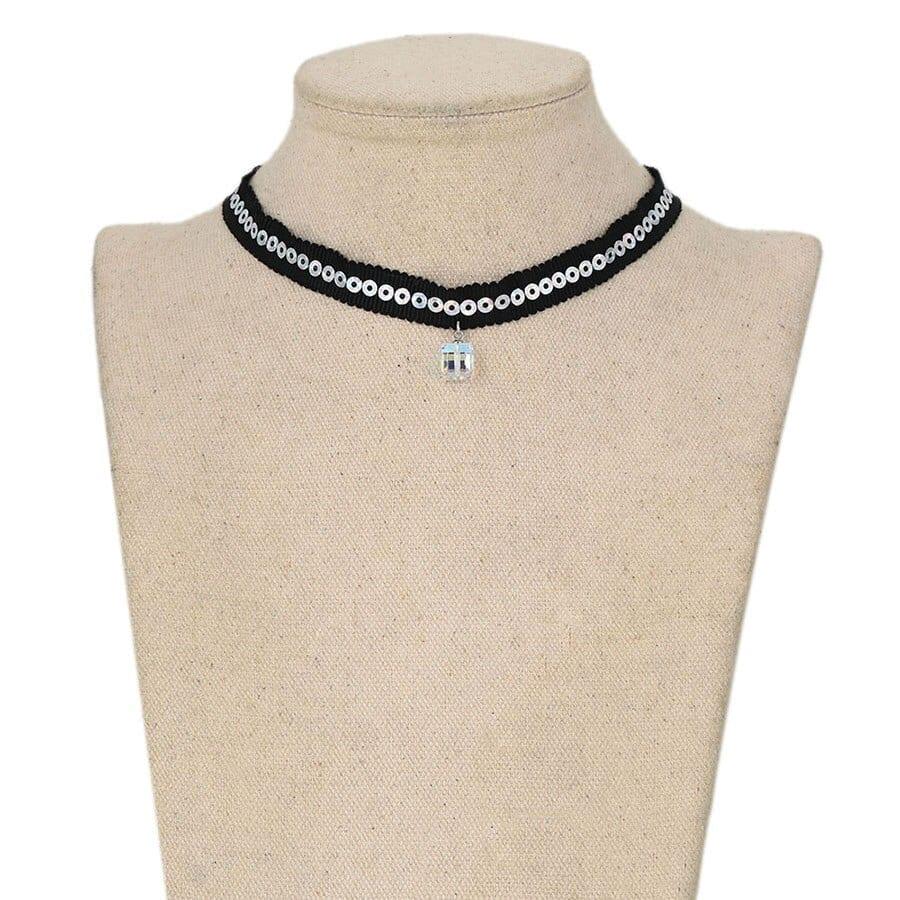 Luxynor Jewelry Exquisite Choker Necklaces Crystals from Swarovski
