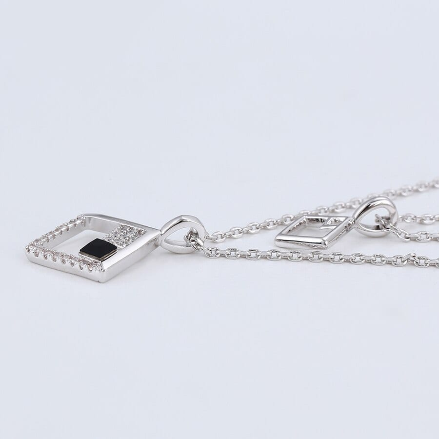 Luxynor Jewelry - Necklace Crystals from Swarovski Embellished With Sparkling