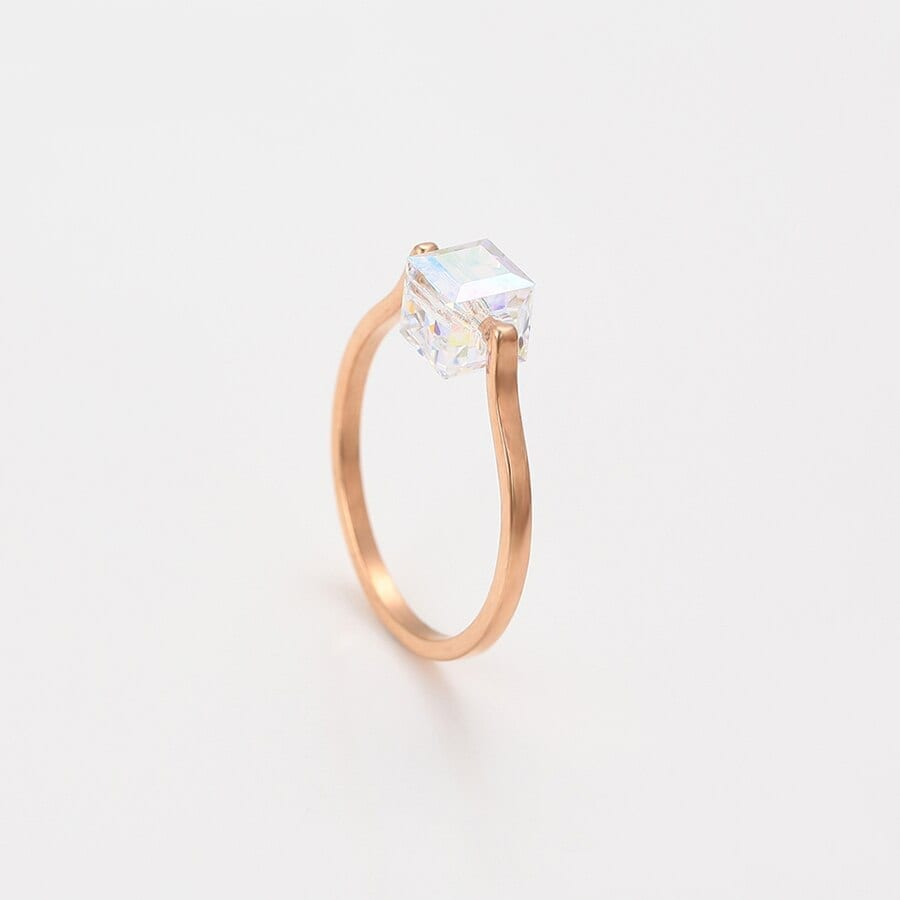 Romantic Rings Vintage for Women Crystals from Swarovski - Luxynor.com