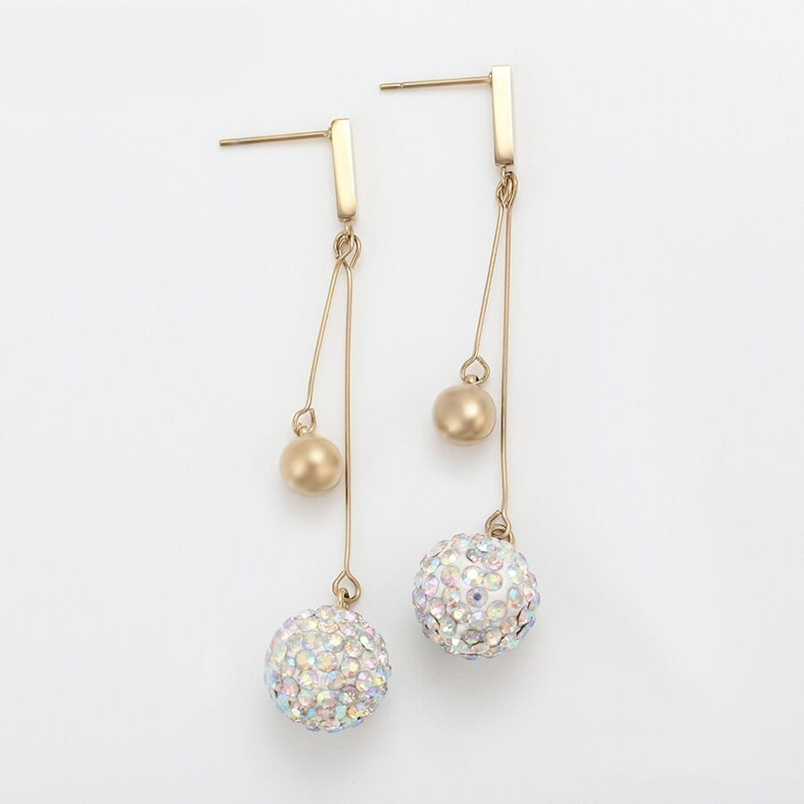 Earrings for Women Fashion Stainless Steel Jewelry Christmas Party - Luxynor Jewelry