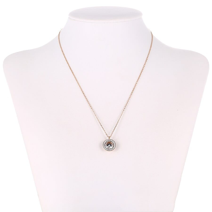 Fashion Necklaces For Women Stainless Steel Jewelry Simple Modern - Luxynor Jewelry