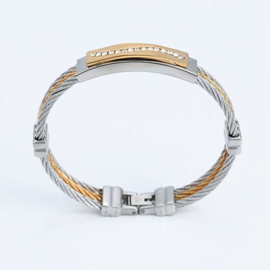 Special Design Bangles Stainless Steel Family Party Fashion - Luxynor.com
