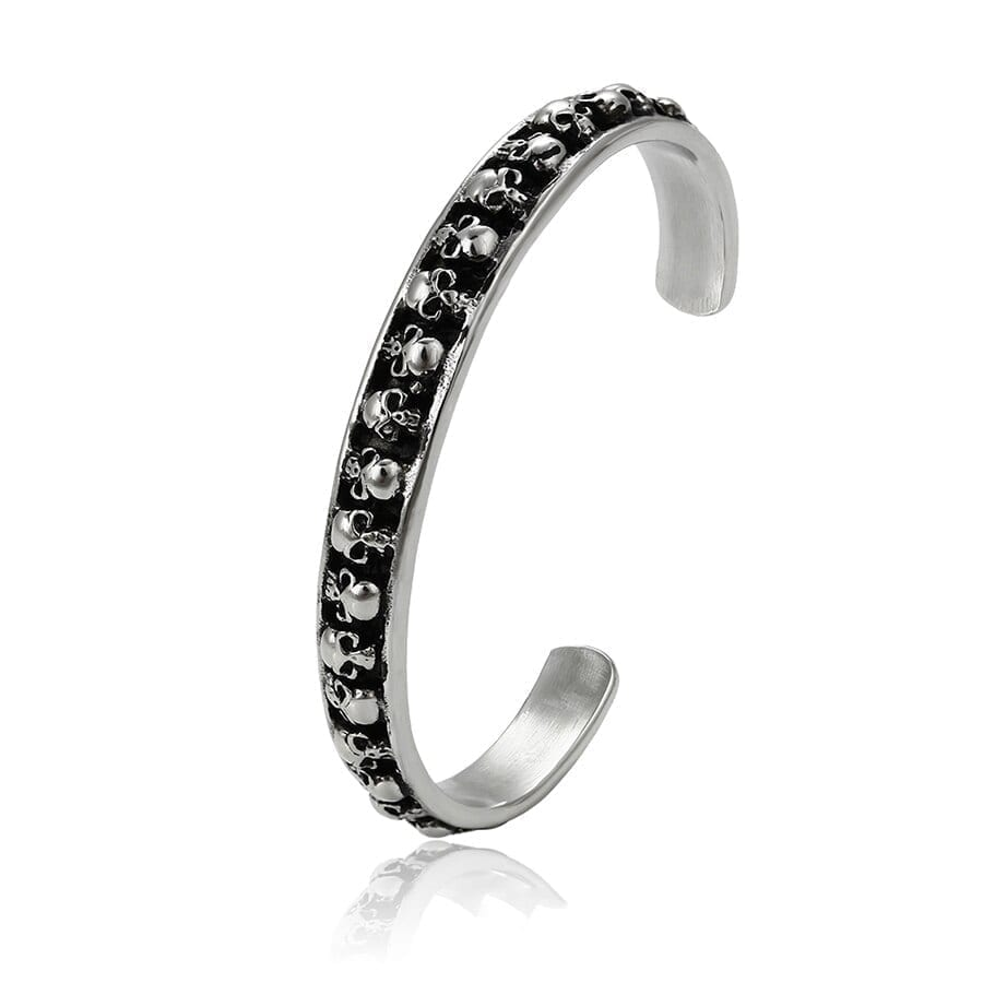Luxynor Jewelry - Fashion Bangles for Women Stainless Steel Jewelry Neo-Gothic Style