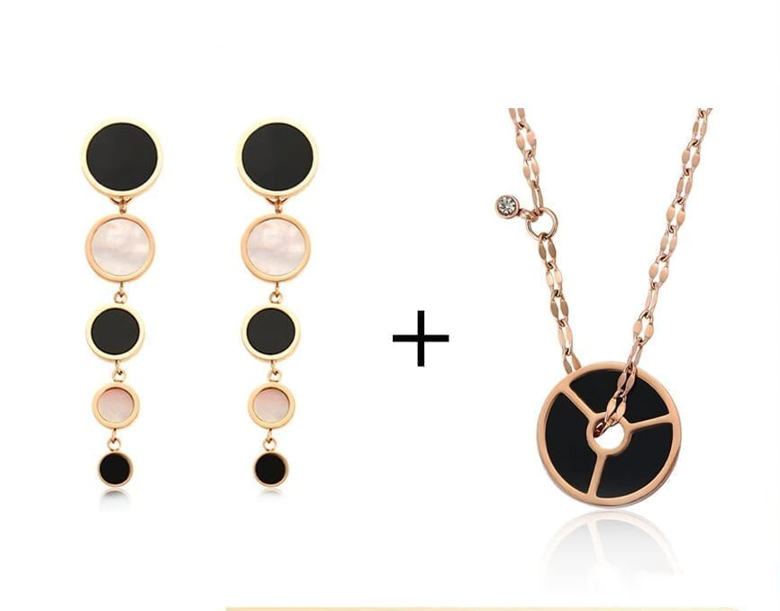 Stainless Steel Jewelry Set Fashion Party Birthday Gift For Women - Luxynor.com