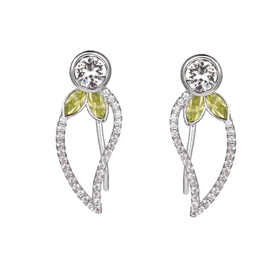 Trendy Earrings Party Temperament Crystals from Swarovski - Luxynor.com