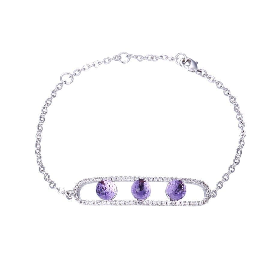 Simple Style Temperament Bracelets Cute Crystals from Swarovski Romantic Jewelry Women Thanksgiving Gifts - Luxynor Jewelry