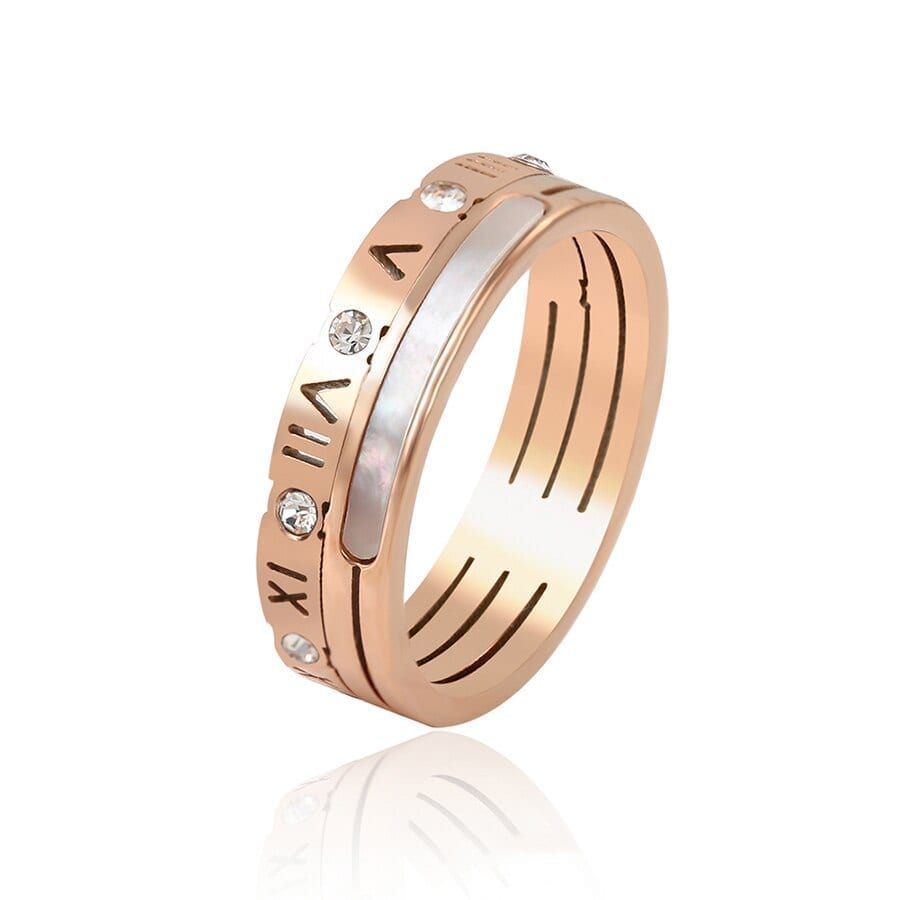 Stainless Steel Rings Vintage Unisex European Style Vintage Popular Jewelry Birthday Party Gift - Luxynor Jewelry