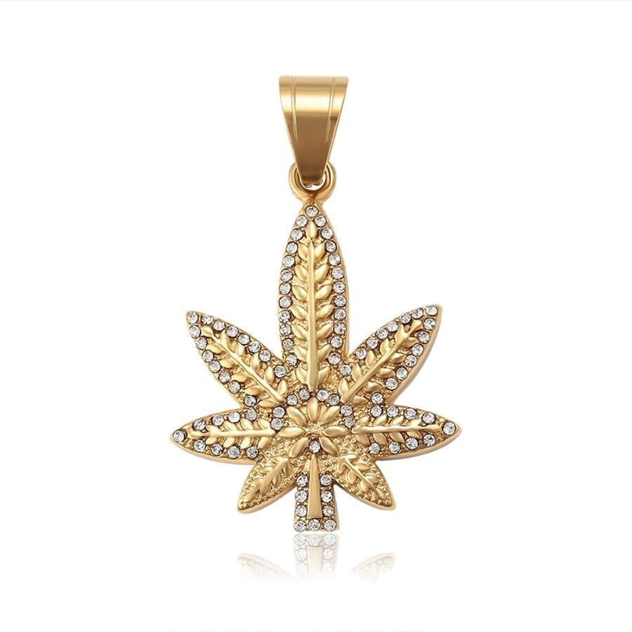 Gold-Color Plated Pendant Women Stainless Steel Popular Jewelry - Luxynor Jewelry