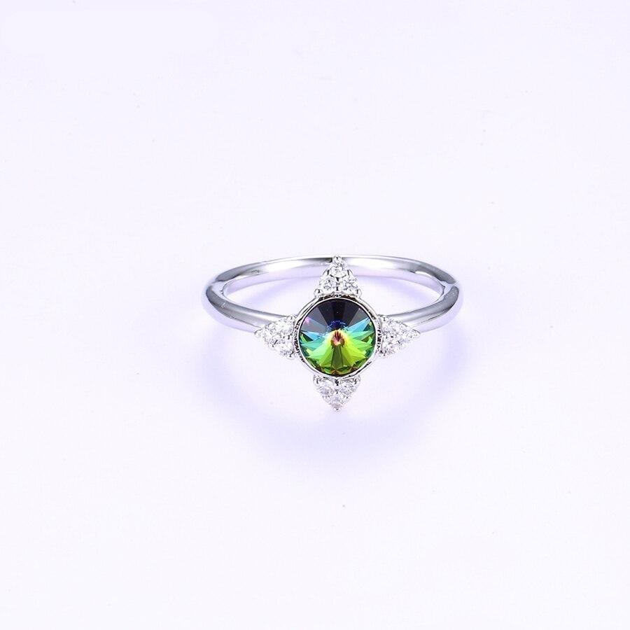 Sweet Cute Ring for women Exquisite Crystals from Swarovski - Luxynor.com