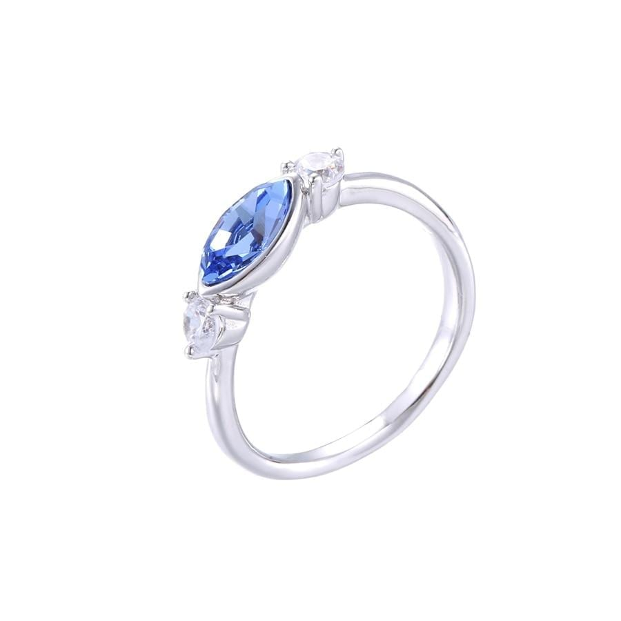 Victorian Style Ring Made By Crystals from Swarovski - Luxynor.com