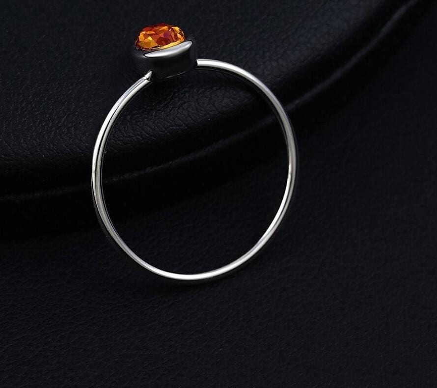 Simple Classic Ring Made By Crystal from Swarovski - Luxynor.com