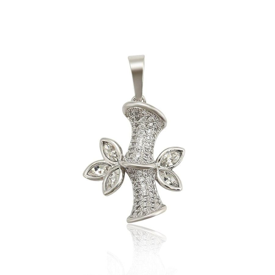 Romantic Pendant For Women Made By Crystals From Swarovski - Luxynor.com