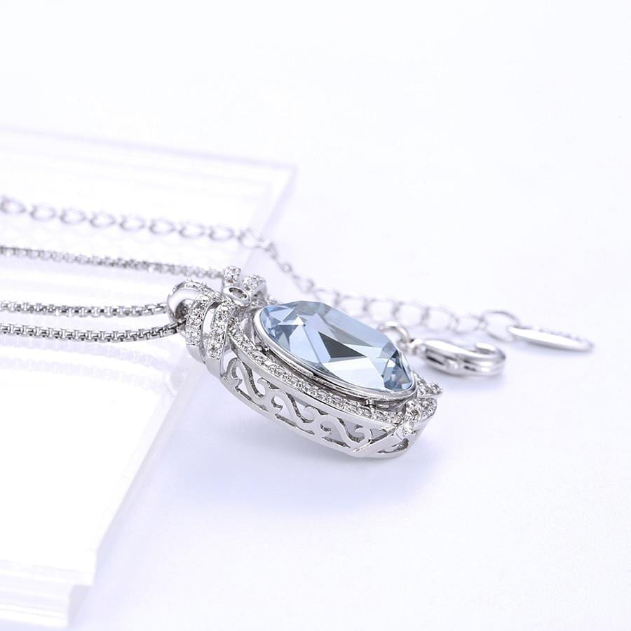 Lovely Temperament Necklace Crystals Made By Swarovski - Luxynor.com